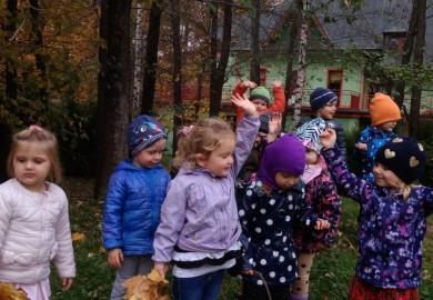 Obrazek galerii Skrzaty w jesiennym nastroju