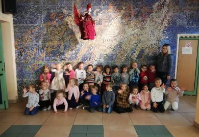 """Obrazek galerii Krasnale w Teatrze Lalek """"Banialuka"""""""