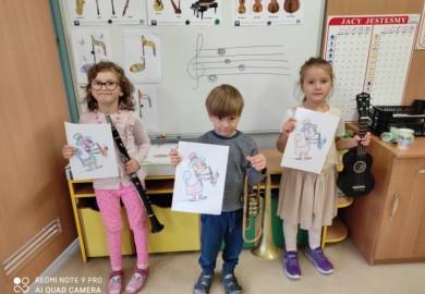 Obrazek galerii Dzień muzyki w Smerfach
