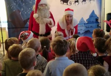Obrazek galerii Wizyta Świętego Mikołaja w naszym Przedszkolu