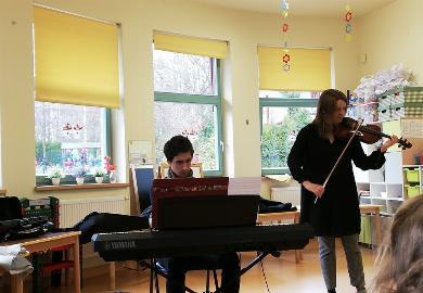 Obrazek galerii Audycja muzyczna Filharmonii Śląskiej.