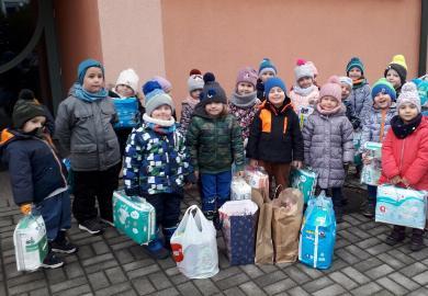 """Obrazek galerii Podsumowanie akcji """"I Ty możesz zostać Świętym Mikołajem""""."""