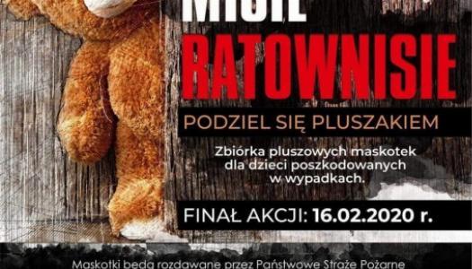 """Obrazek newsa Ogólnopolska Akcja """" Misie Ratownisie"""""""