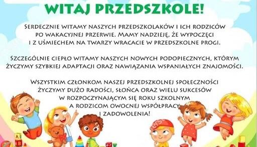 Obrazek newsa Nowy Rok Szkolny