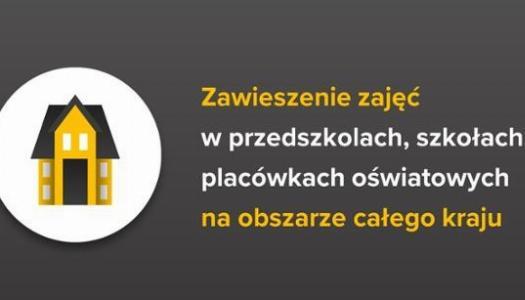 Obrazek newsa Zajęcia zawieszone