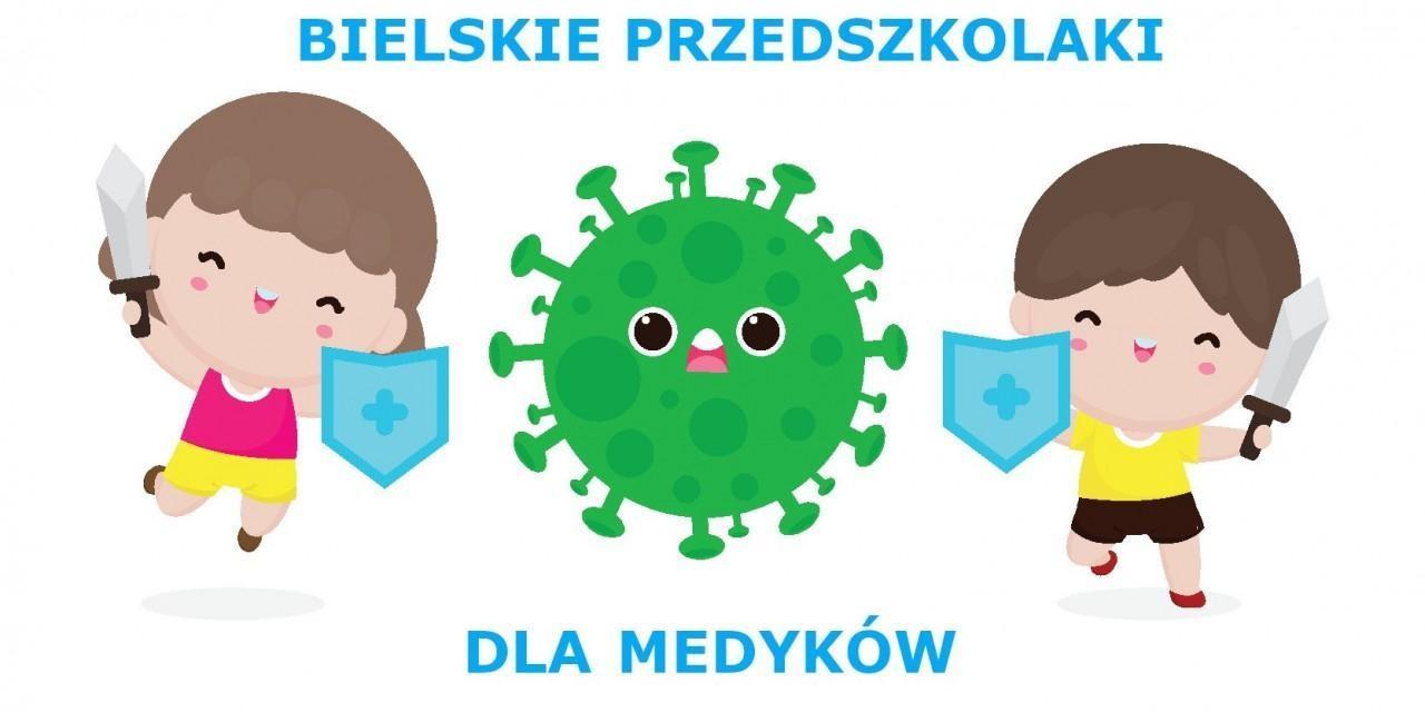 Obrazek newsa Bielskie Przedszkolaki dla Medyków - podsumowanie